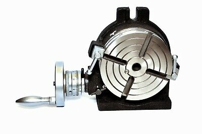 "6"" Rotary table 4 SLOT Horizontal & Vertical Precision Quality"