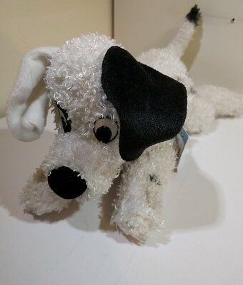 Disney Store Exclusive Patch 101 Dalmations puppy dog soft plush beanie