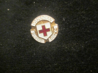 Canadian Red Cross Blood Donor    Pin