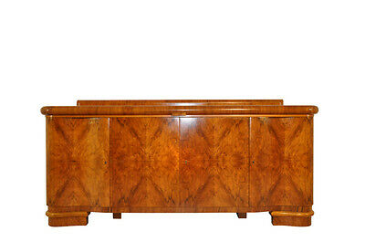 Buffet Dark Art Deco Sideboard in Walnut