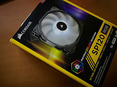 Ventilateur Corsair SP120 RGB LED x2 120mm + controller - CO-9050061-WW