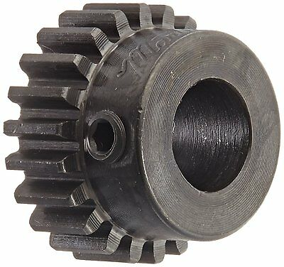 Martin S2022BS 1/2 Spur Gear, 14.5° Pressure Angle, High Carbon Steel, Inch, 20