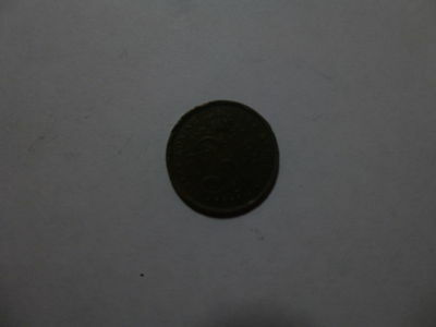 Old Belgium Coin - 1911 Dutch 2 Centimes - Circulated