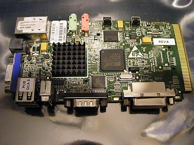 Single Board Computer - Windows Embedded - 3 USB - VGA & DVI - Ethernet - Serial