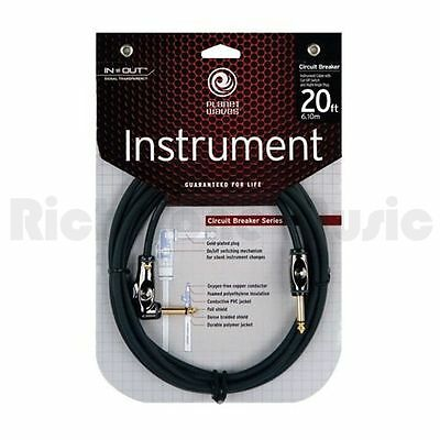 Planet Waves PW-AGRA-20 Cable Breaker 1/4 inch Cable Right Angle