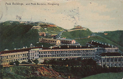 HONG KONG, China, 1912 ; Peak Buildings