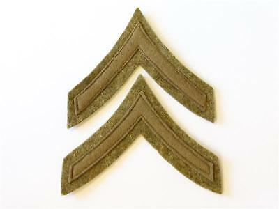 U.S. Army WWI, Lance Corporal Sleeve insignia, pair