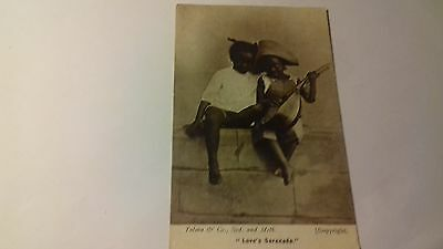 rp card,Love's serenade,1906,card by talma, sydney & melbourne