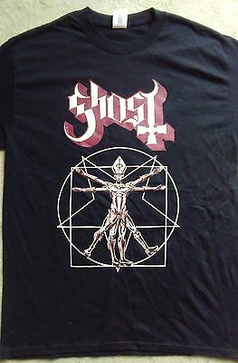 GHOST UK tour shirt 2017. Size large.