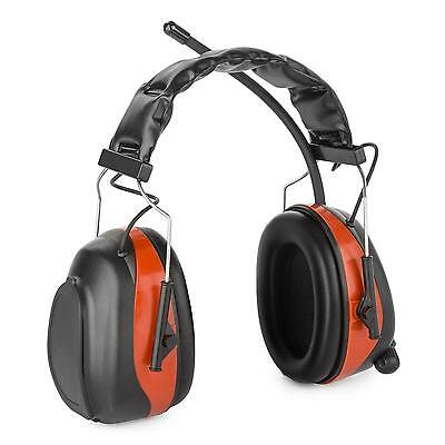 Casque de protection auditive antibruit SNR radio ahute fréquence 28dB - rouge