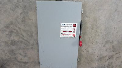 Eaton Cutler Hammer DH364NGK Safety Switch 200 Amp 600V 3 phase fusible
