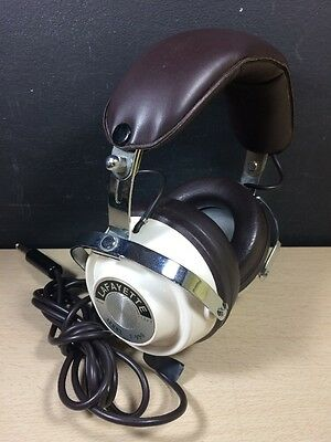 Vintage Lafayette Model F-990 Professional Stereo Headphones Made In Japan
