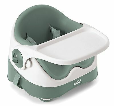 Mamas & Papas Baby Bud Booster Seat Soft Teal - Infant/Toddler Seat