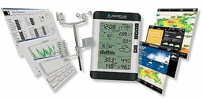 Weather Station Wireless Professional WS2083 with Internet Upload + Free Begi...