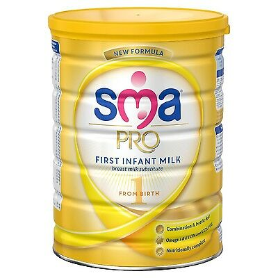 SMA PRO First Infant Milk from Birth 800 g - Pack of 6