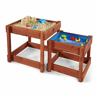 Plum Products Sandy Bay Wooden Sandpit and Water Tables