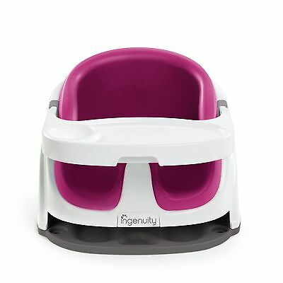 Ingenuity Baby Base 2-in-1 Seat (Pink Flambe)