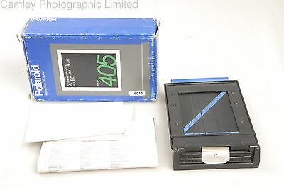 Polaroid 405 Film Holder. Condition – 5E [6015]