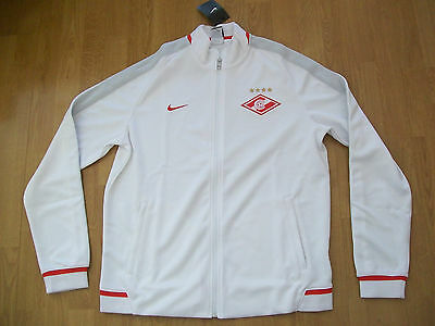 BNWT Spartak Moscow shirt (TRACKSUIT JACKET), large, Nike, UK FREEPOST!