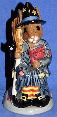 """Royal Doulton Bunnykins """"witching Time"""" Toby Jug D7166 Limited Edition 509/1500"""
