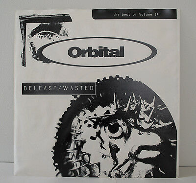 Orbital Belfast / Wasted Therapy Innocent X Limited Ed PVC Sleeve & Poster Rare