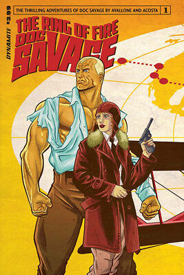 DOC SAVAGE RING OF FIRE #1 COVER A (DYNAMITE 2017 1st Print) COMIC