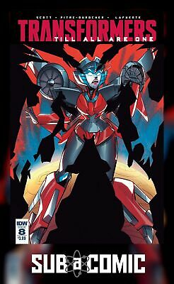 TRANSFORMERS TILL ALL ARE ONE #8 SUBSCRIPTION VARIANT (IDW 2017 1st Print) COMIC