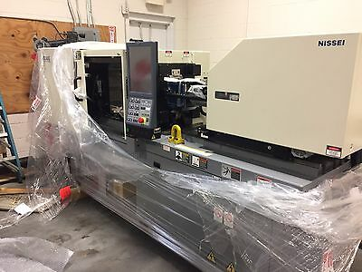 Nissei NEX30-1E All Electric Injection Molding Machine , New. Never started.