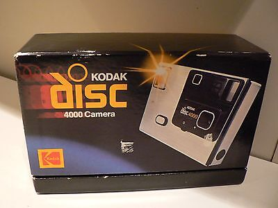 Vintage Kodak 4000 DISC CAMERA IN ORIGINAL PRESENTATION BOX