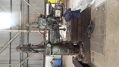 Asquith radial drill - large - with selection of reamers and drill bits