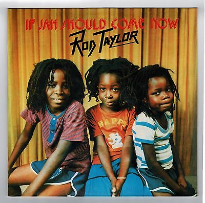 ROD TAYLOR-if jah should come now  LP   (hear)   (new & sealed)  roots reggae