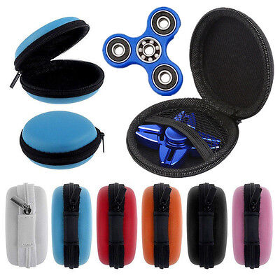 Fidget Hand Spinner Triangle Finger Toy for Focus ADHD Autism Box Bag Case Gift