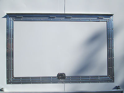 "Concession Serving Window size 40"" x 64""   No Glass FREE SHIPPING!"