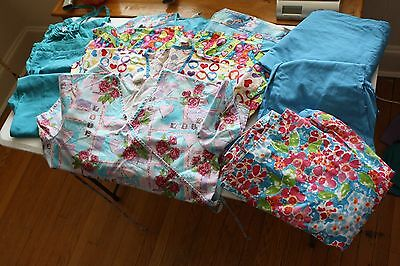 Lot of Scrubs Size Large lot of 9 tops, pants and jackets (50)