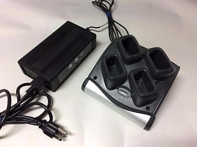 Symbol Motorola Sac9000-4000R 4-Bay Battery Charger Cradle For Mc90X0 Series