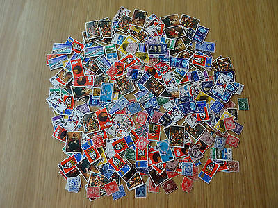 Stamps Great Britain   300 Mixture / Collection   Pre Decimal  Gb