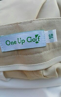 One Up Golf Trousers Women's Size 16 NEW!