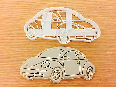 VW car Side cookie cutters Uk Plastic Cookie Cutter Fondant Cake Decorating
