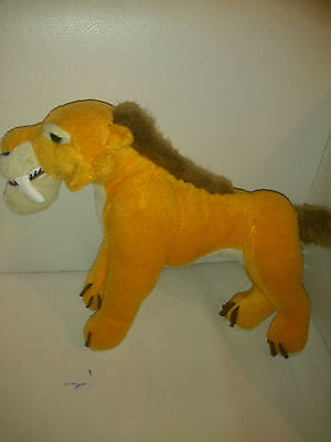 """Ice Age 3: Dawn of the Dinosaurs, Diego  Soft Toy Plush, 2008. Appr8"""""""