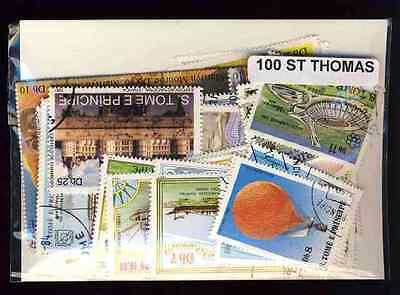 Saint Thomas et Prince - Sao Tome and principe 100 timbres différents