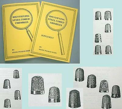 Reference Book on DORCAS & Other Steel-Cored Thimbles * by Diane Pelham Burn