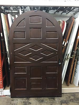 "Front Door arched Spanish Style 87 X52"" Wide Entry"