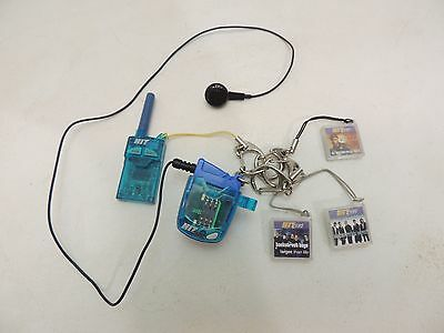 Tiger Hit Clips Micro Music Player w/ 3 Song Cartridges & FM Radio -TESTED