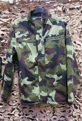 Irish IDF DPM Soft Shell Fleece Large