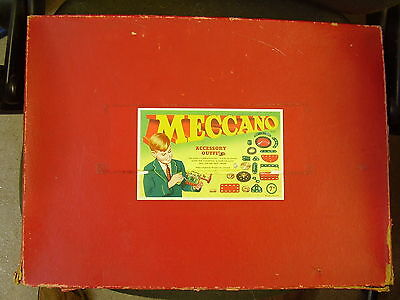 Vintage MECCANO Accessory Outfit 7A  Box  empty