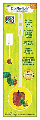 KidSwitch Light Switch Extender 3 Pack - World of Eric Carle Edition