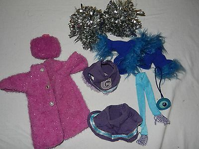 Lot of Groovy Girls Clothing Accessories Cheer Squat, Pink Glitter Coat