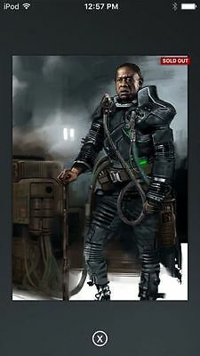 Topps Star Wars Digital Card Trader RO Saw Gerrera 1A Concept Art Insert