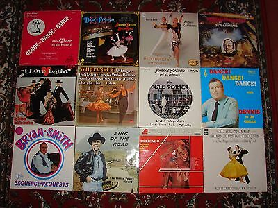 Large Collection/Job Lot of LP's Old Time Dance Easy Listening Tango Waltz etc.