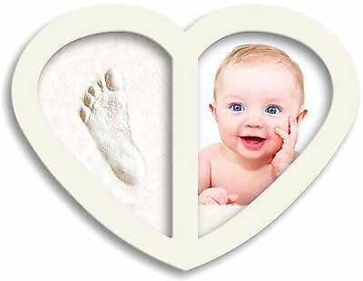 2017 Design, Newborn Babyprints Kit - Baby Handprint and Footprint Photo & #4UN
